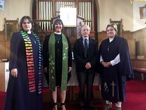 Earlston Missionary Partners visit